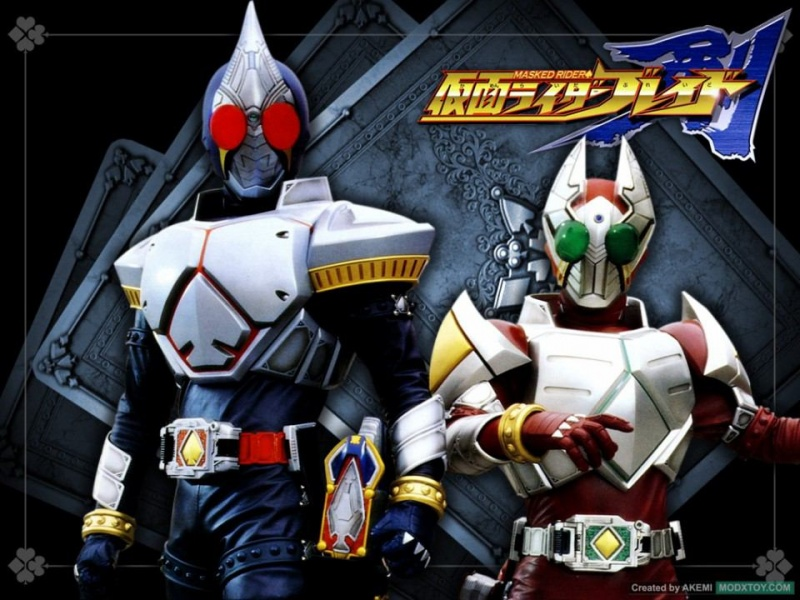 Kamen Rider Blade | #TV-Nihon